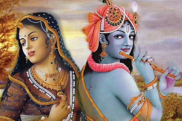 Image result for Krishna with radha